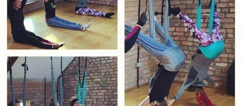 CircusFit Aerial Pilates!